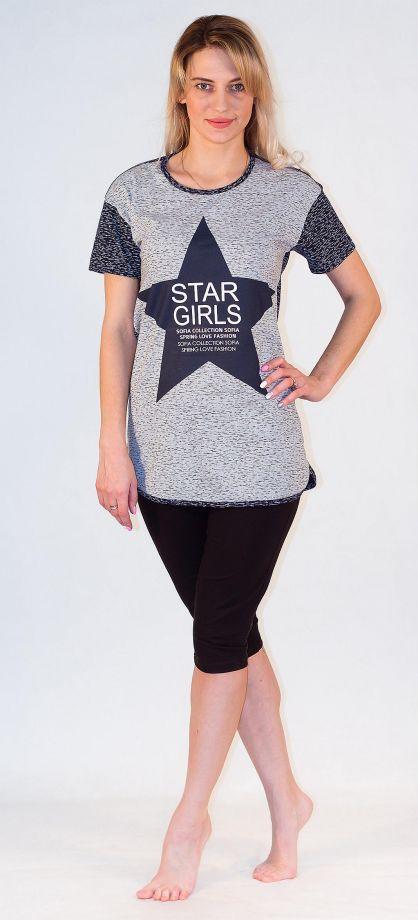 Блуза женская Звезда Efri-Sf64 (хлопок)