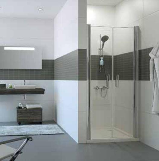 Huppe Classics 2 душевая дверь, открывающаяся вовнутрь и наружу, для ниши C237 ФОТО
