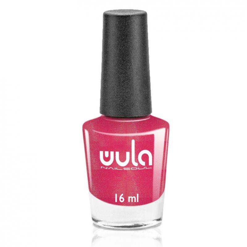 """WULA nailsoul Лак для ногтей, тон 61 """"Малиновый искрящийся"""""""