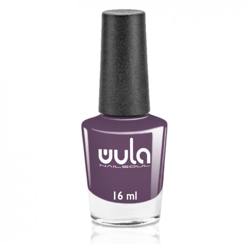"""WULA nailsoul Лак для ногтей, тон 80 """"Темный серо-красный"""""""