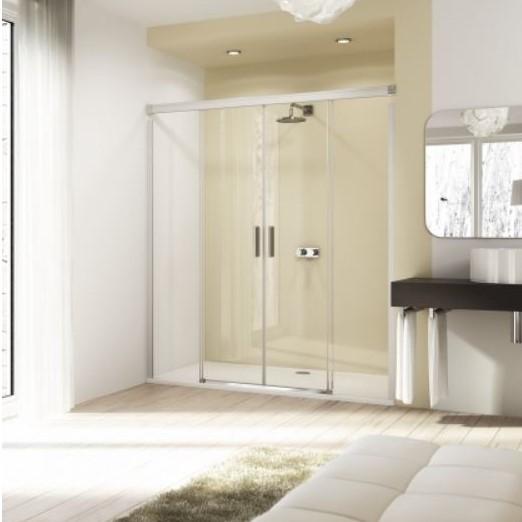 Huppe Design elegance Двухсекционная раздвижная дверь с неподвижными сегментами 8E05