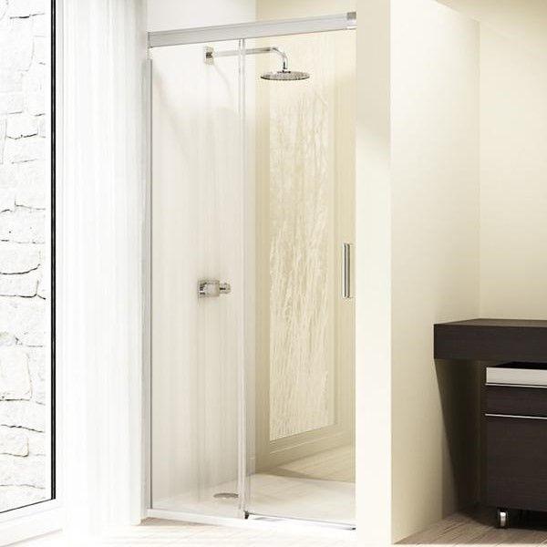 Раздвижная душевая дверь с одной секцией Huppe Design elegance 8E01 ФОТО