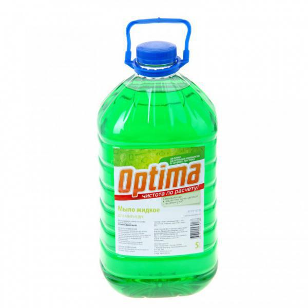 Synergetic Мыло жидкое для мытья рук OPTIMA, канистра, 5 л
