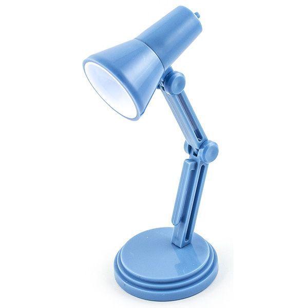 Светильник для чтения книг Настольная Лампа голубая