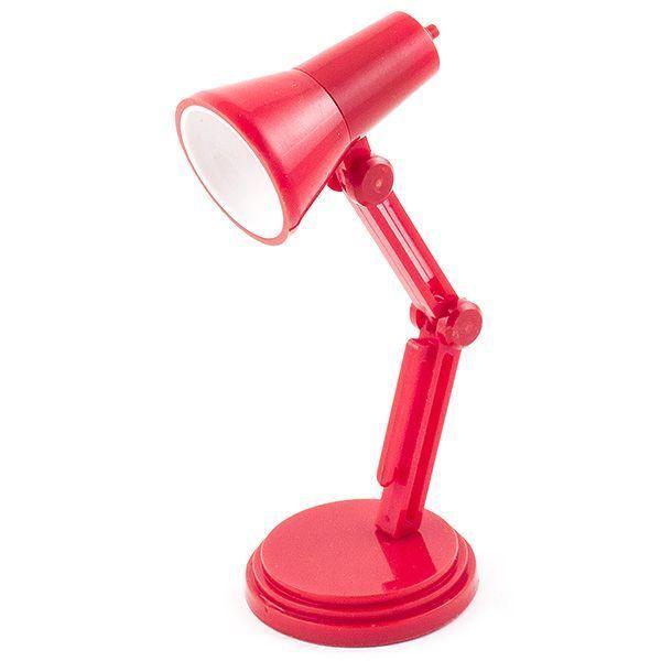 Светильник для чтения книг Настольная Лампа красная