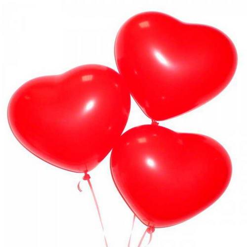 Шар с гелием Сердце 30 см