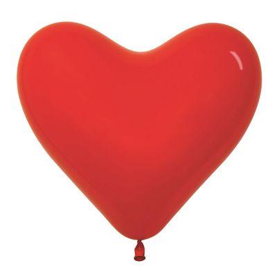 Шар с гелием Сердце 40 см