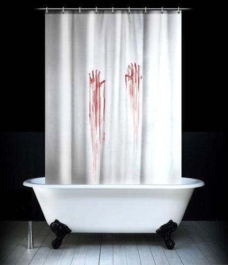 Занавеска в душ Кровавая 180х180cm