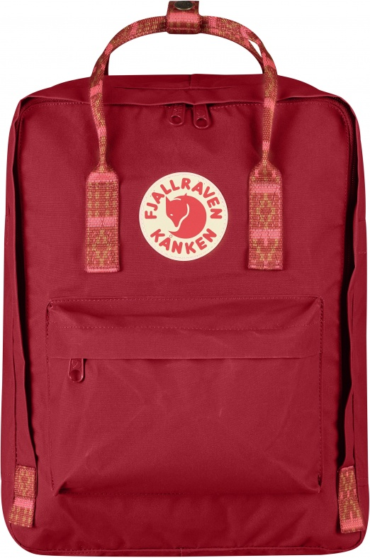 Рюкзак Fjallraven Kanken classic 325-903 Deep Red-Folk Pattern