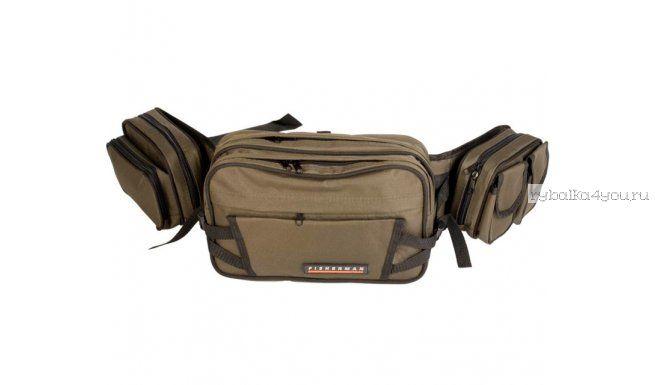Купить Поясная и нагрудная сумка Fisherman/ Артикул: Ф2401 (с двумя подсумками)