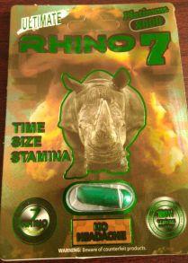 Препарат для потенции Носорог Rhino 7 , 1 кап