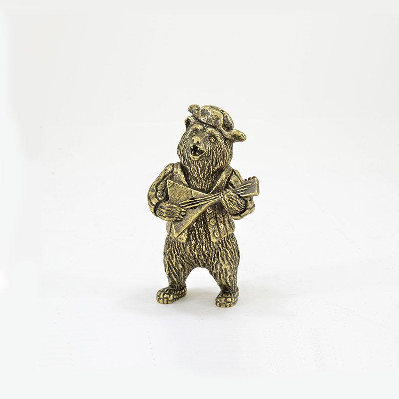 """Статуэтка """"Медведь с балалайкой"""""""