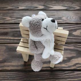 Игрушка Медведь в шарфике
