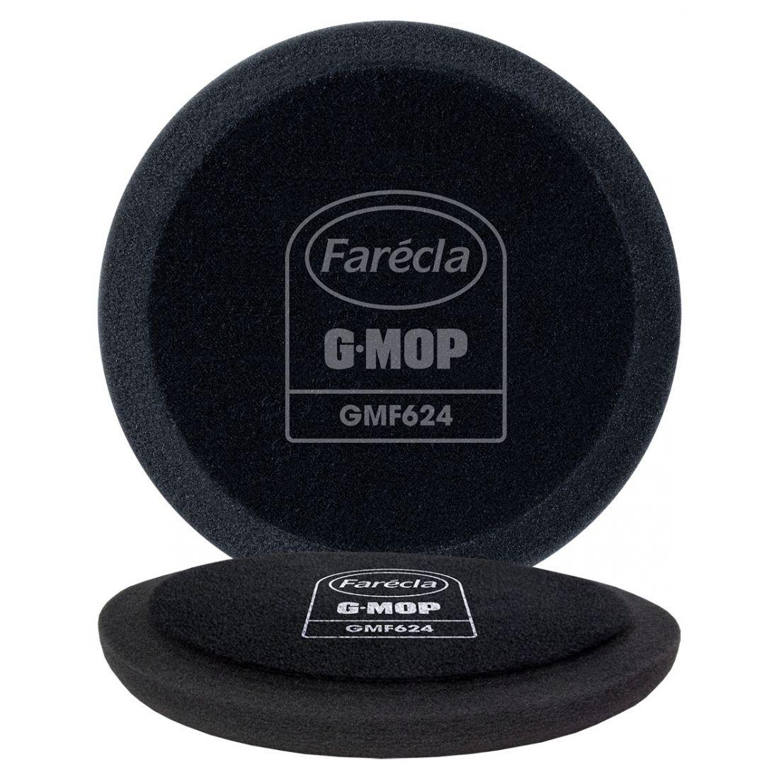 """FARECLA G Mop 3"""" Black Finishing Foams Полировальник для финишной пасты, 80мм"""