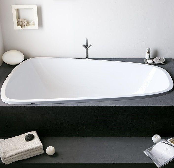 Ванна акриловая Hoesch SINGLEBATH DUO арт: 3686 176x114 слив справа ФОТО
