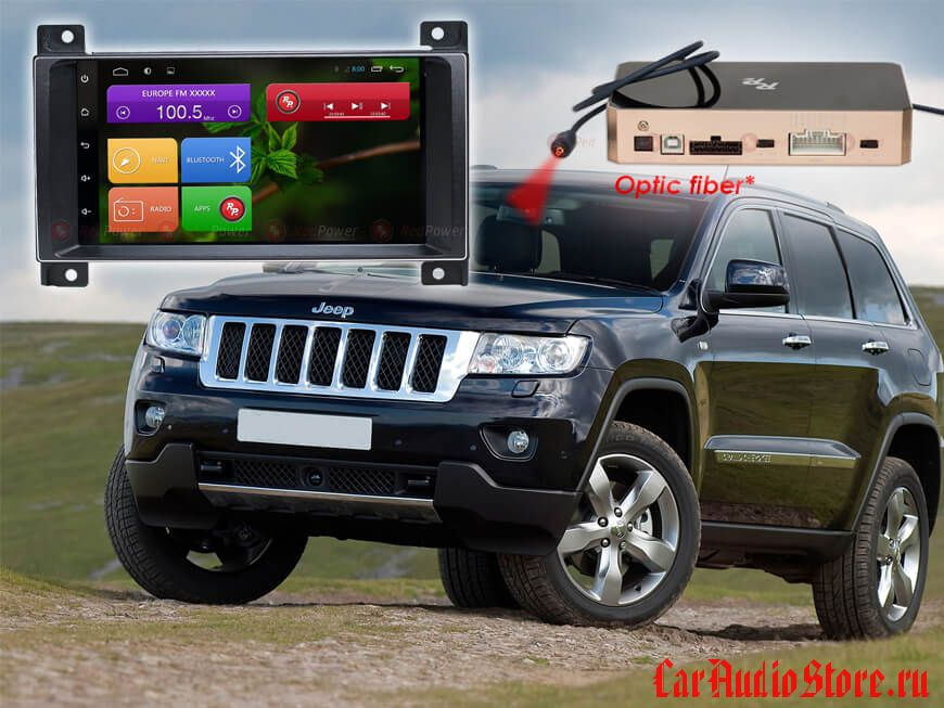 RedPower 31218 IPS Jeep Grand Cherokee (ANDROID 7)