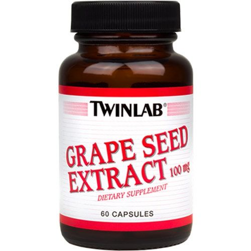 Twinlab - Grape Seed Extr 100mg (60 капс)