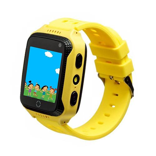 Умные детские умные часы Smart Baby Watch T7(GW500S)(желтый)