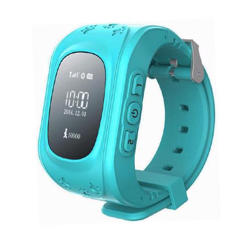 Умные детские часы с GPS Smart Baby Watch Q50 (голубой)