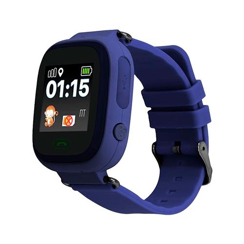 Умные детские часы с GPS Smart Baby Watch Q80 (синий)