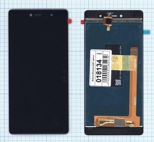 LCD (Дисплей) Micromax E481 Canvas 5 (в сборе с тачскрином) (black) Оригинал