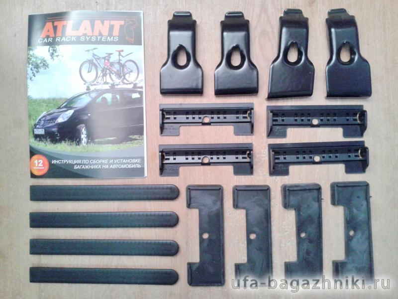 Адаптеры для багажника Land Rover Freelander 2, Атлант, артикул 7198
