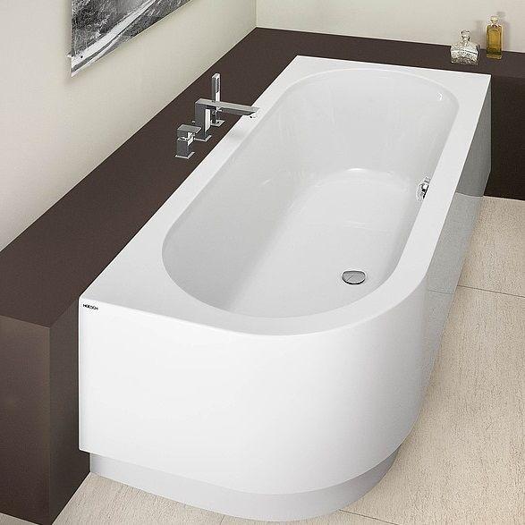 Правосторонняя ванна Hoesch HAPPY D  арт: 6486 / 6487 180x80 ФОТО