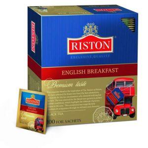 Чай Riston English Breakfast Tea черный 100пак