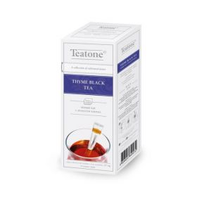 Чай Teatone Thyme черный с чабрецом 15 стиков