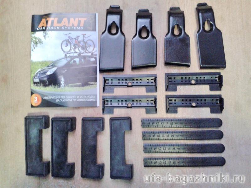 Адаптеры для багажника Geely Emgrand (EC7) (hatchback) 09-..., Атлант, артикул 7182