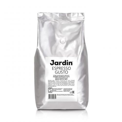 Кофе Jardin в зернах Espresso Gusto 100% арабика 1кг