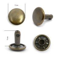 Хольнитен 9mm №33,5 АНТИК Сталь NewStar 9х9 (ДВУСТОРОННИЕ)