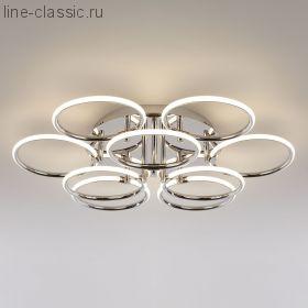Светодиодный потолочный светильник Артикул: 90069/9 хром