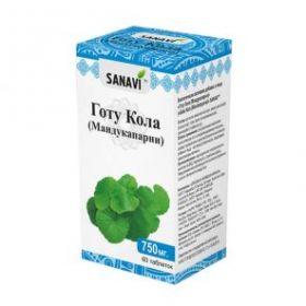 ГОТУ КОЛА, 60 таблеток (SANAVI)