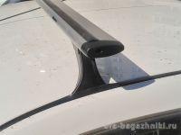 Багажник на крышу на Datsun On-Do, Delta, аэродинамические (крыловидные) дуги