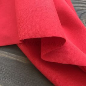 Трикотаж однотонный Красный
