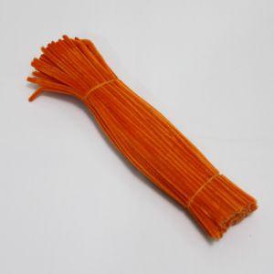 `Синельная проволока 6мм х 300мм, цвет: ярко-оранжевый (1уп = 10шт)