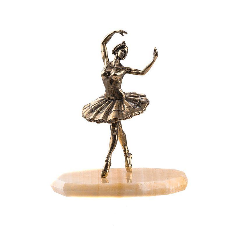 "Статуэтка ""Балерина"" на натуральном камне"