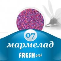 Мармелад для дизайна ногтей №07