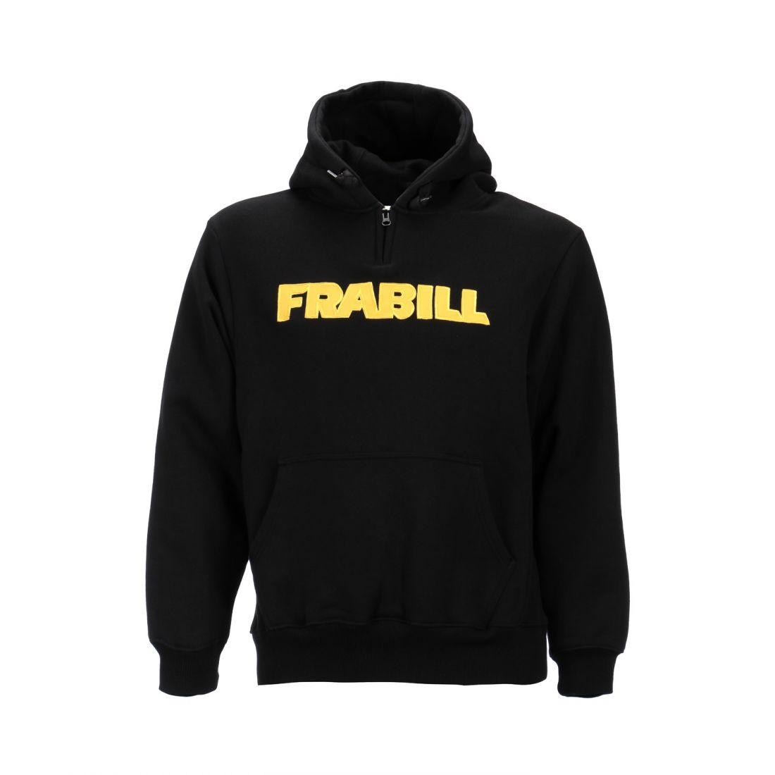 Кенгурушка Frabill Heavyweight Cotton Hooded Sweatshirt черная размер XL