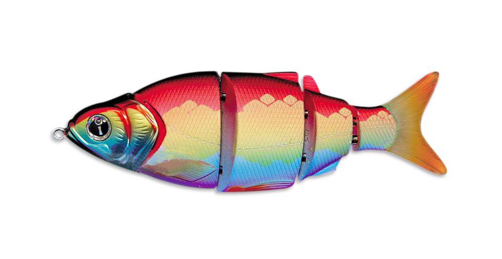 Свимбейт Izumi Shad Alive 105FS, быстротонущий, #29 Rainbow Shad