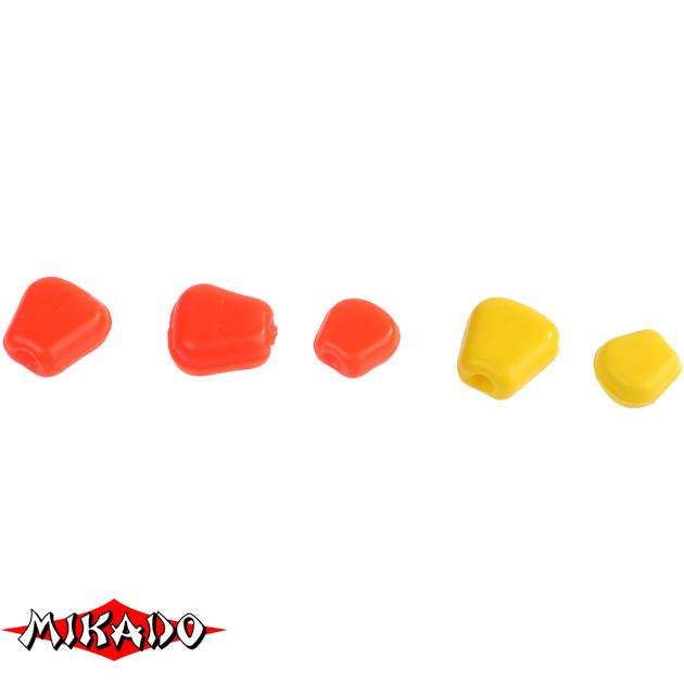 Кукуруза силиконовая Mikado TROUT CAMPIONE (чеснок) крупная / 001, упак