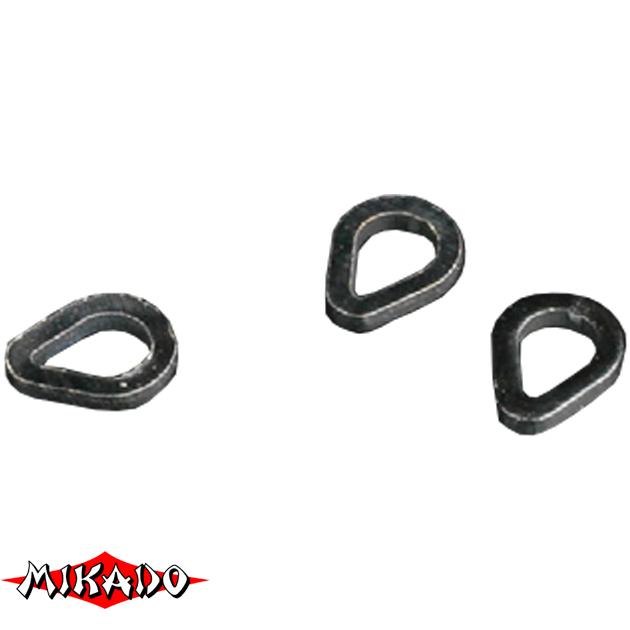 Кольцо Mikado каплевидной формы 4 мм. уп.=25 шт., упак