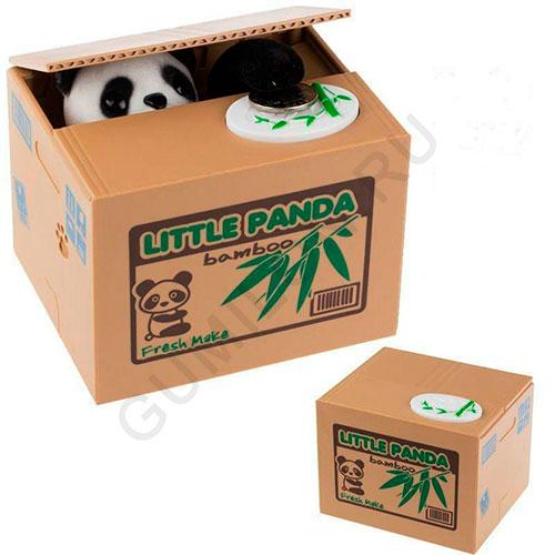 Интерактивная копилка-воришка ПАНДА LITTLE PANDA
