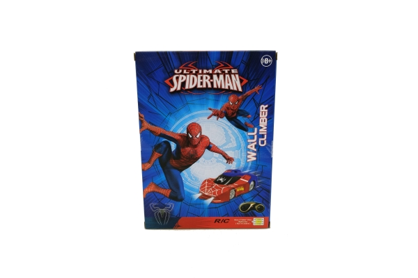 Антигравитационная машинка Spiderman Wall Climber