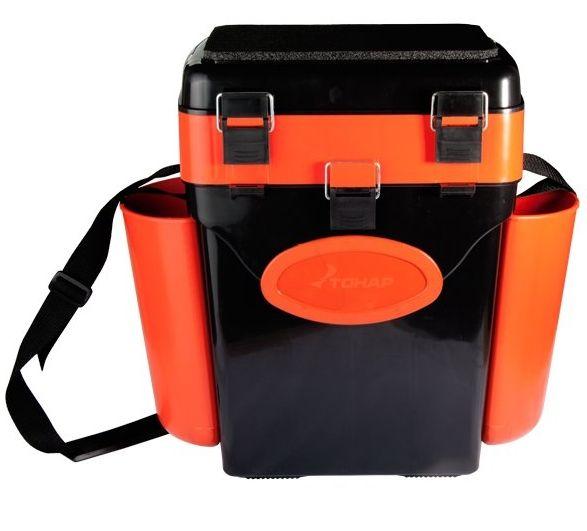 "Ящик зимний Helios ""FishBox"" 10 л, оранжевый"