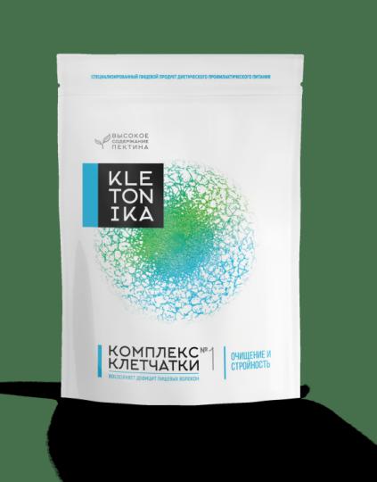 Комплекс клетчатки  KLETONIKA №1 Очищение и Стройность