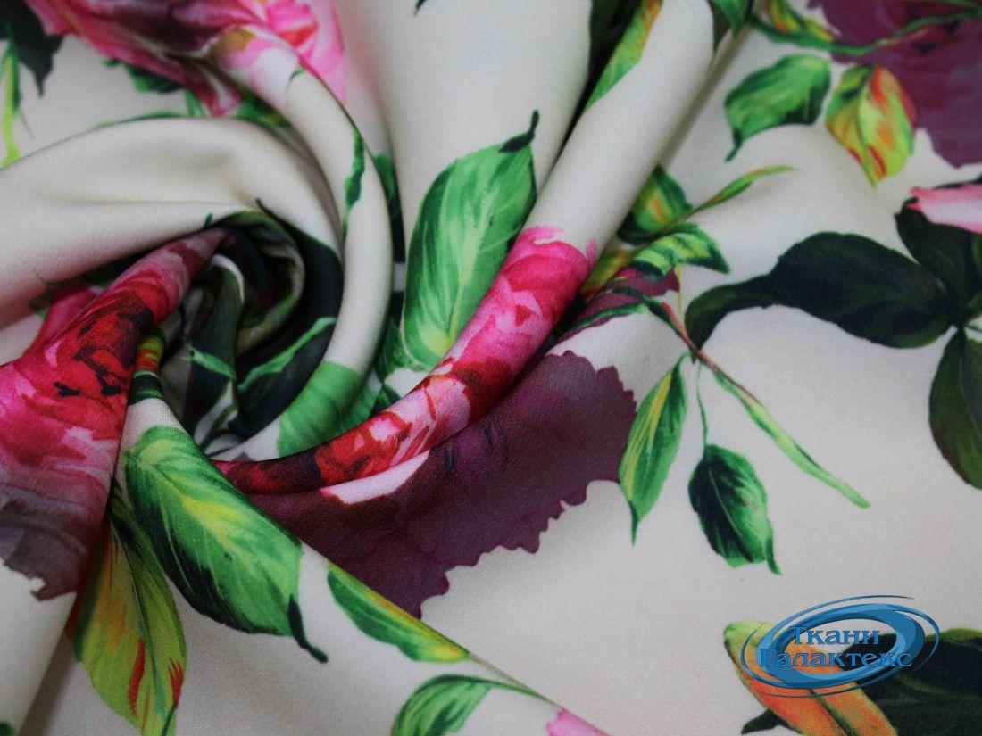 """Костюмная ткань принт """"Барби"""" VT-9743/D9/C#1"""