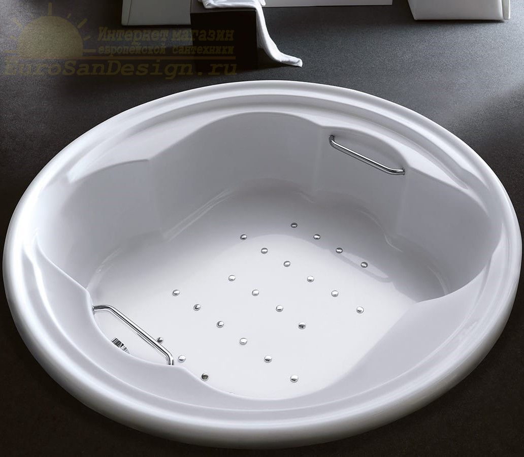 Гидромассажная ванна Gruppo Treesse Perla 182x182 V669 ФОТО