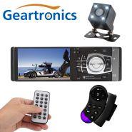 """Автомагнитола 4.1"""" Geartronics 4012+камера и FM-трансмиттер"""